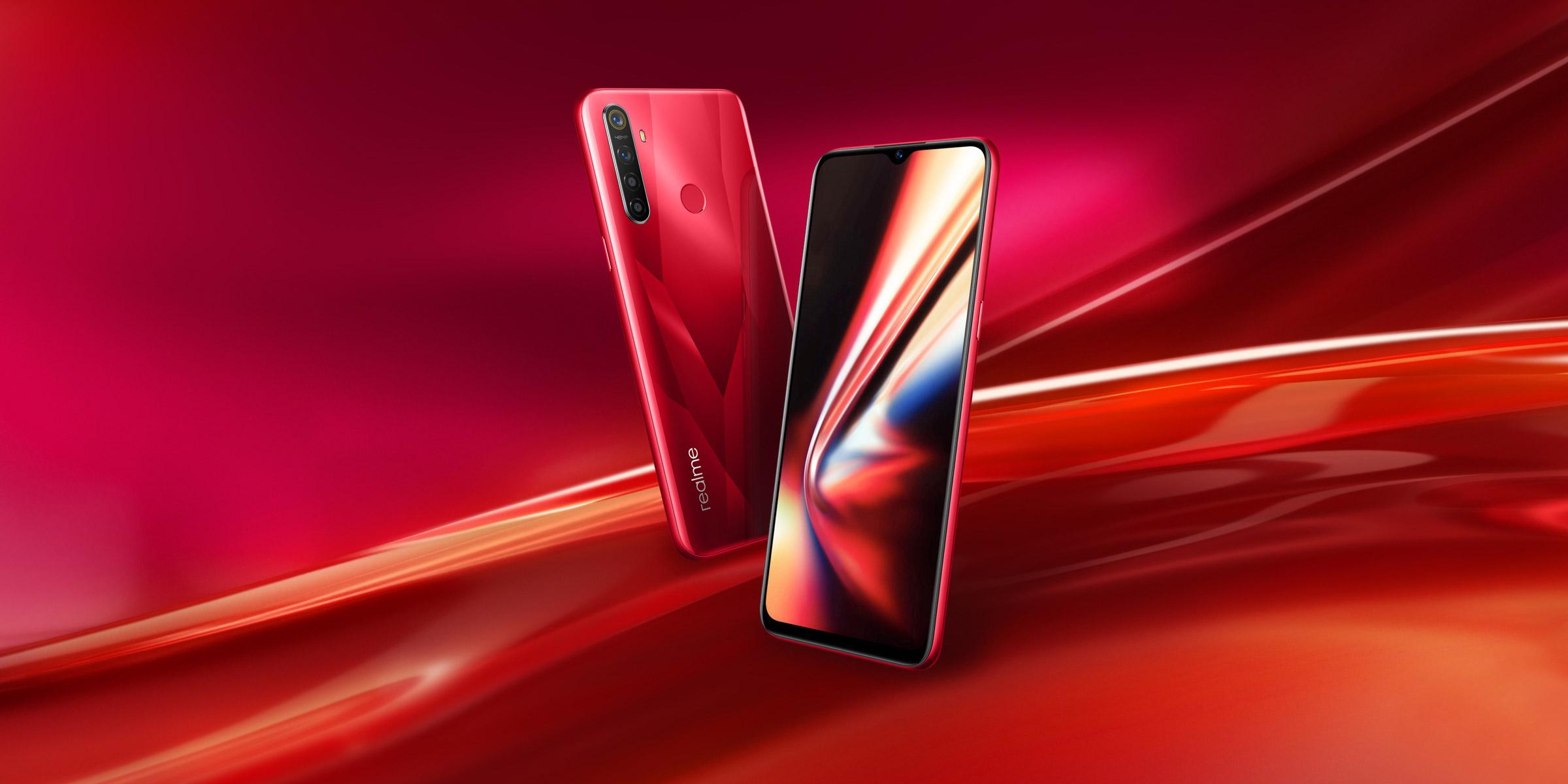 Spesifikasi Hp Realme 5s RAM 4GB Baterai 5000mAh android gaming smartphone termurah terbaru 2019